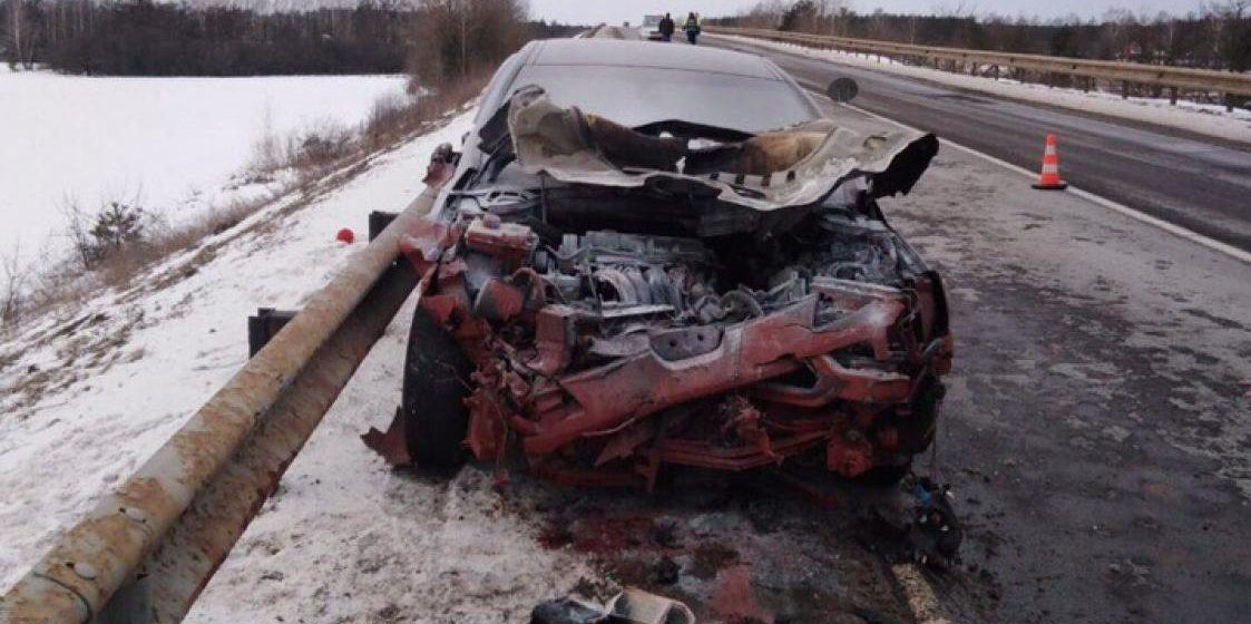 Пьяный бесправник летел со скоростью почти 200 км/ч и убил человека в Лунинецком районе