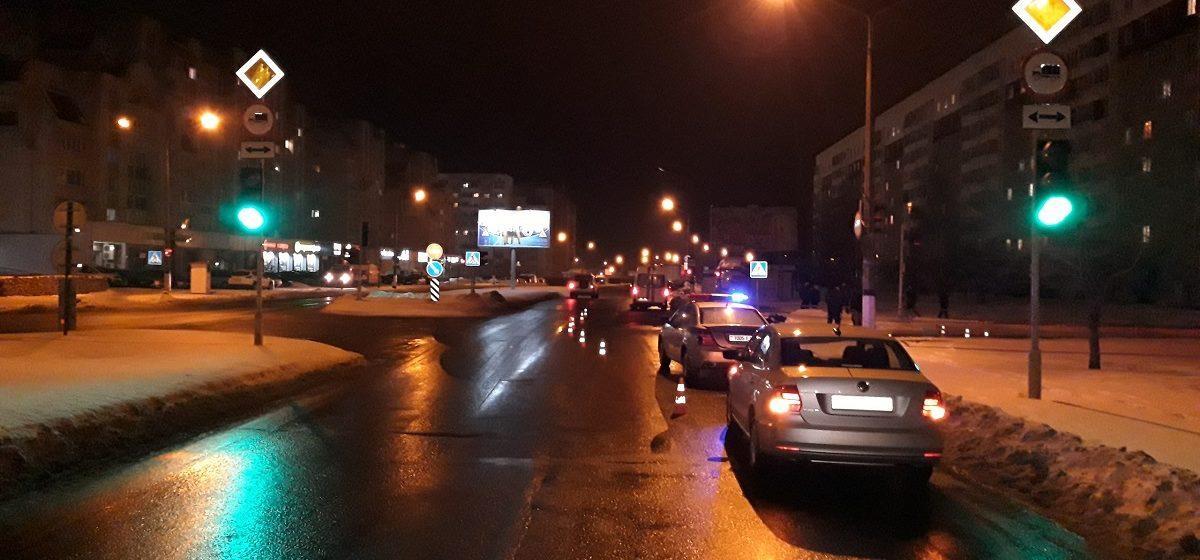 В Полоцке Pontiac насмерть сбил 57-летнего мужчину
