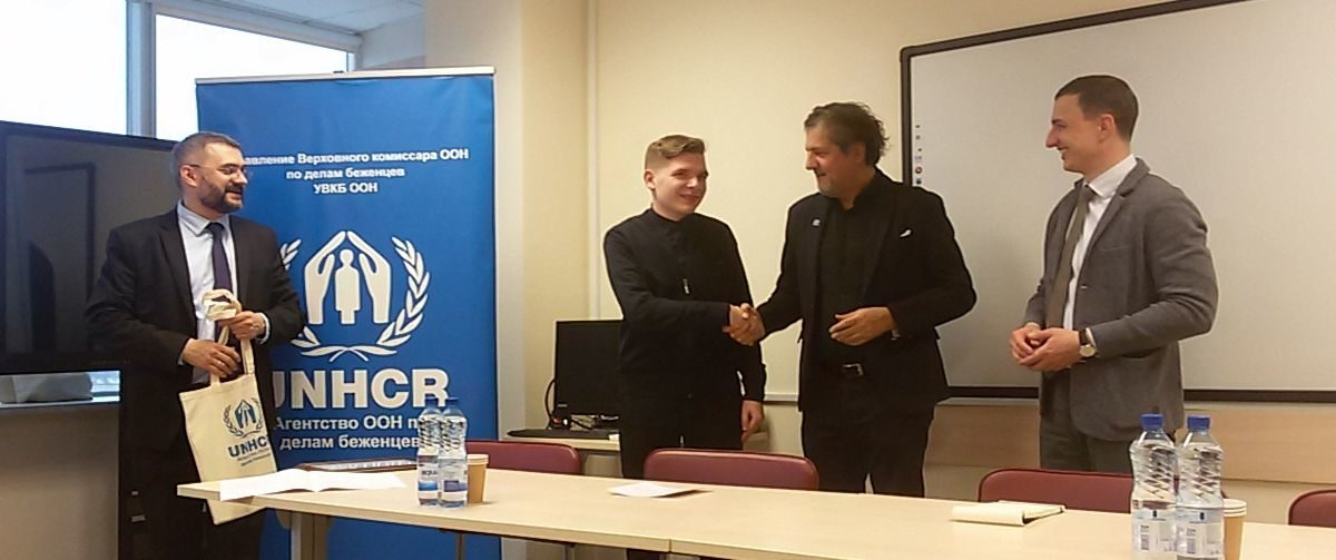 Как молодежь относится к беженцам, выяснил студент БарГУ и стал призером конкурса ООН