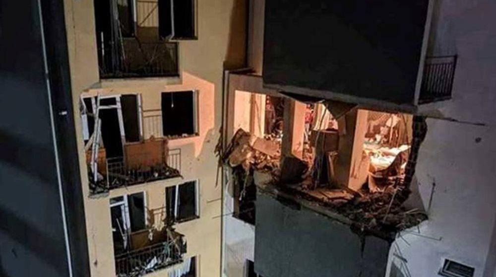 В жилом девятиэтажном доме в Тбилиси взорвался газ. Есть погибшие, в том числе и ребенок