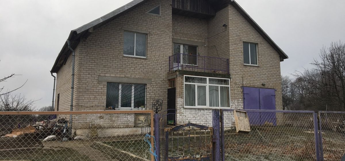 Декабрь 2018 года. Дом, в котором произошло убийство. Фото: Intex-press