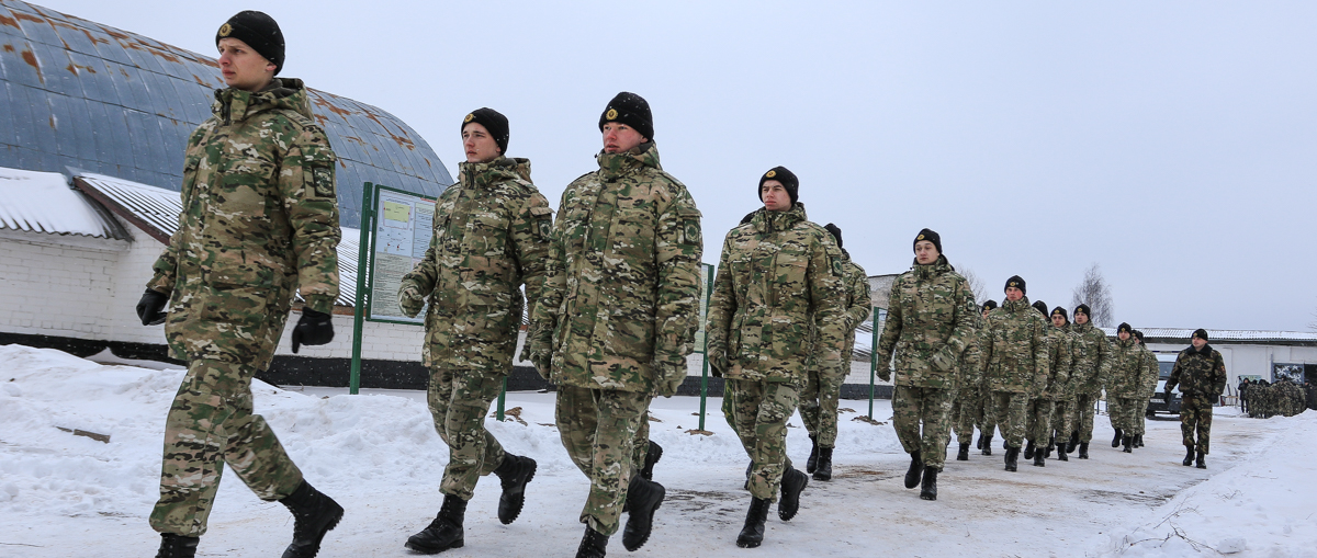 Военнослужащие в/ч 7404. Фото: Александр ЧЕРНЫЙ