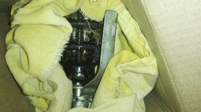 Жительница Минска нашла в своем шкафу ручную гранату