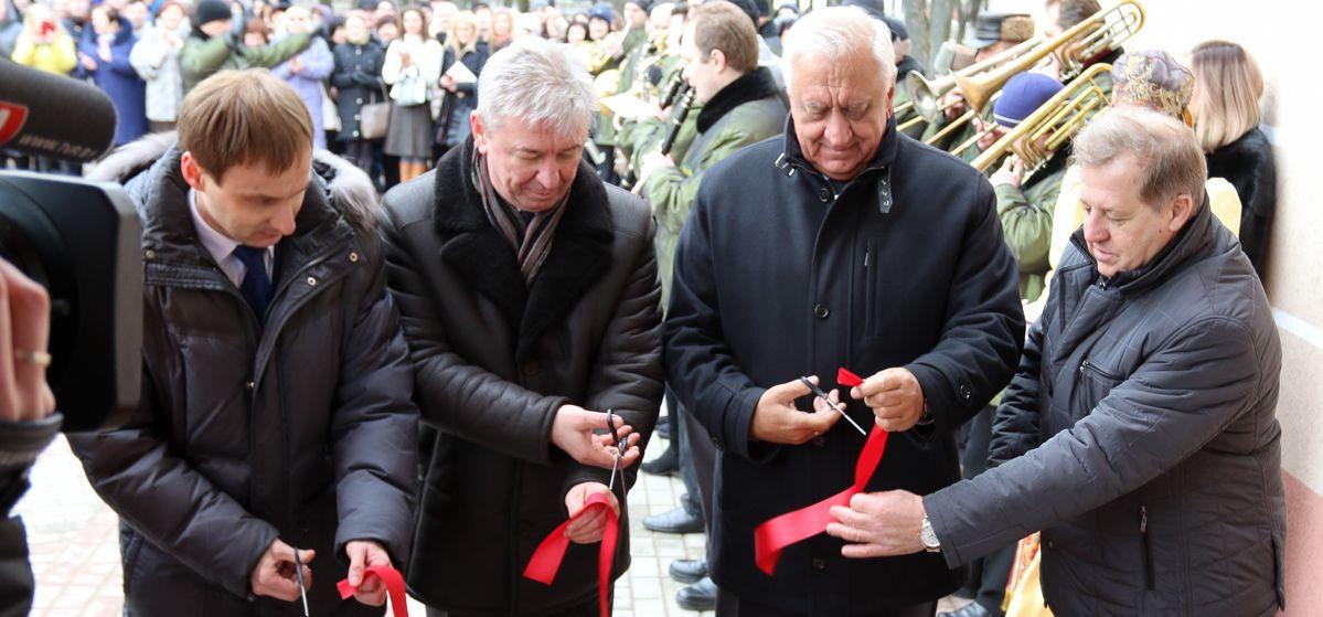 В Барановичах открыли новый корпус колледжа легкой промышленности