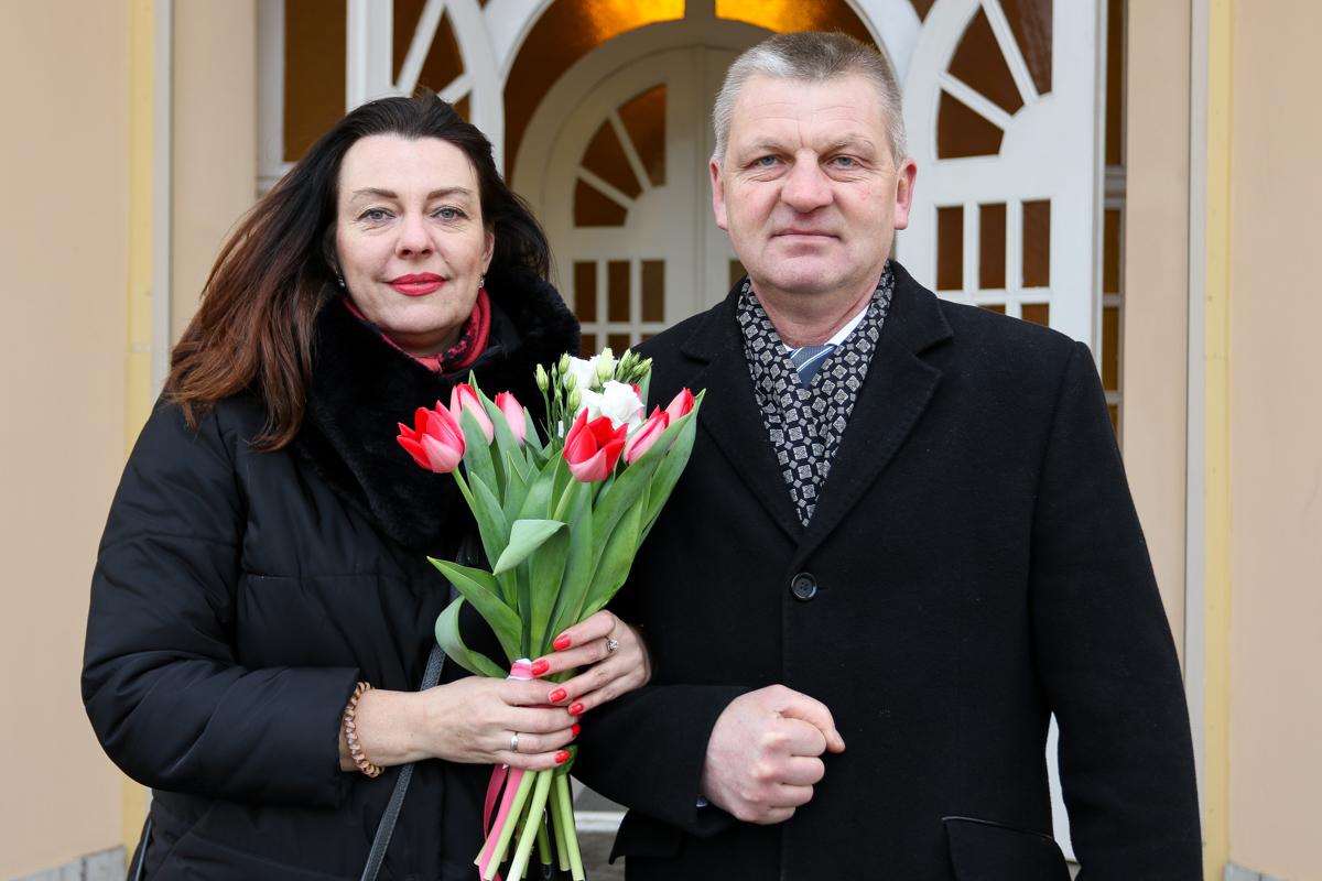 Татьяна Кулеш и Игорь Пучило. Фото: Александр ЧЕРНЫЙ