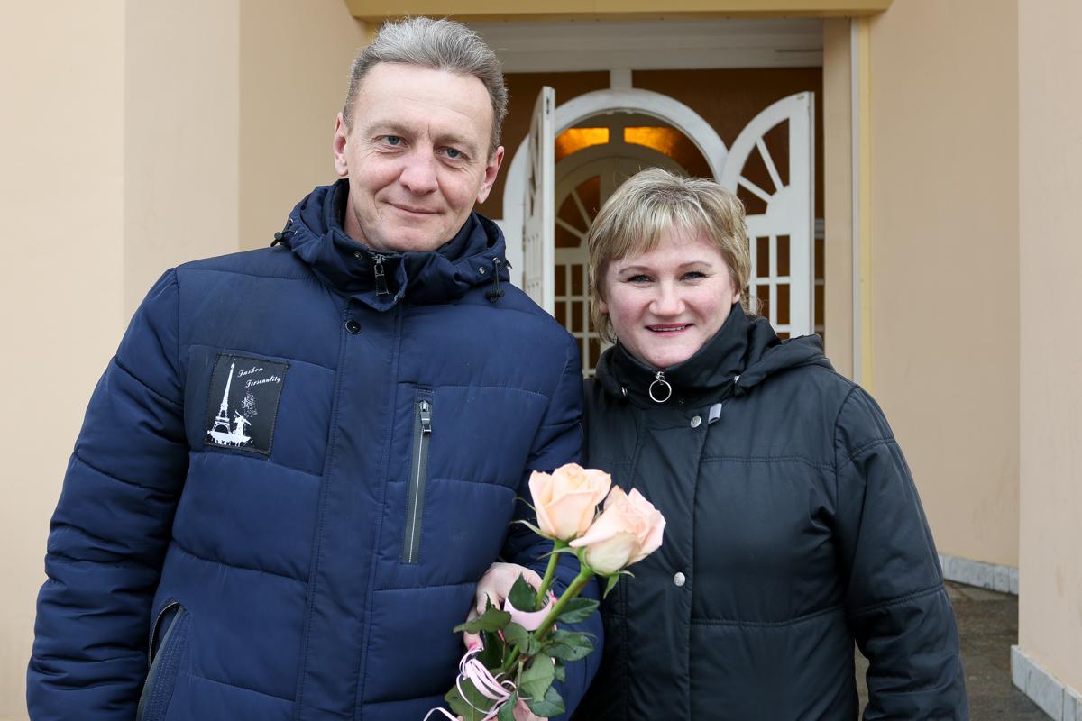 Игорь Лепешко и Людмила Бахур. Фото: Александр ЧЕРНЫЙ