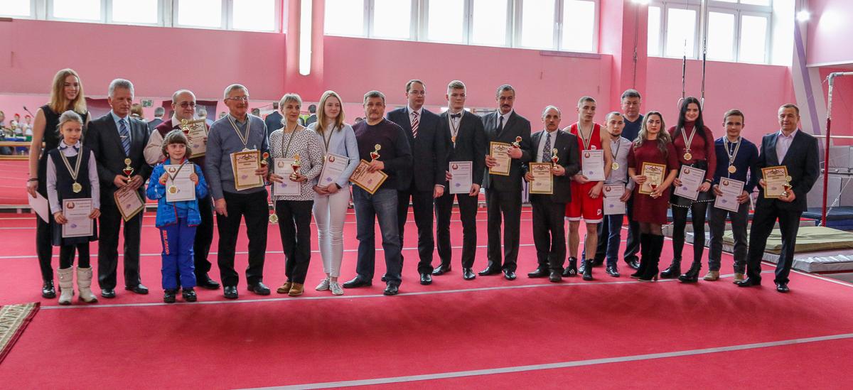Лучшие спортсмены и тренеры города Барановичи в 2018 году. Все фото: Александр ЧЕРНЫЙ