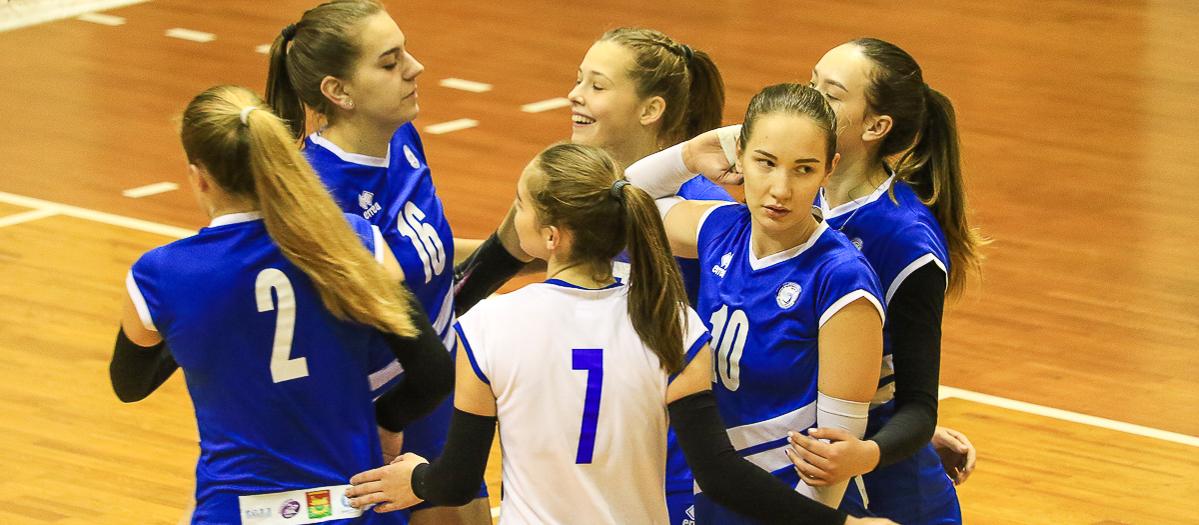 Волейболистки «Атланта-БарГУ» дважды победили в домашнем туре