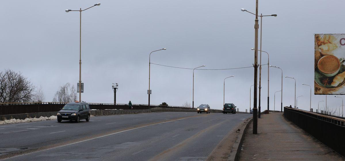 В марте начнут реконструкцию Полесского моста в Барановичах. Движение транспорта ограничат