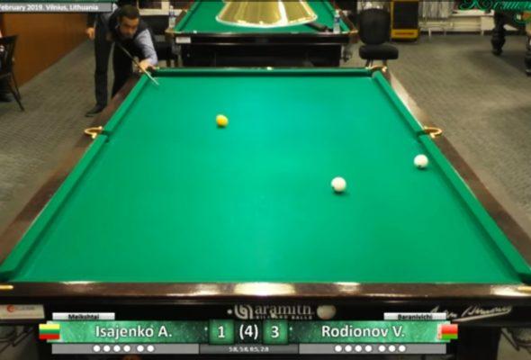 Бильярдист из Барановичей выиграл международный турнир