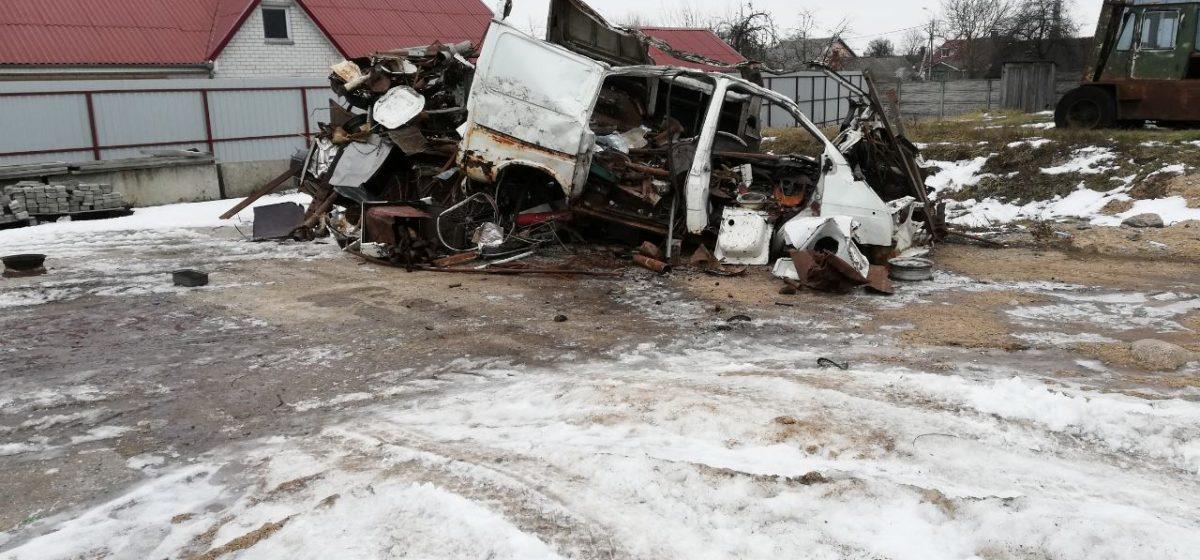 Задержан житель Барановичей, скупавший у населения металлолом