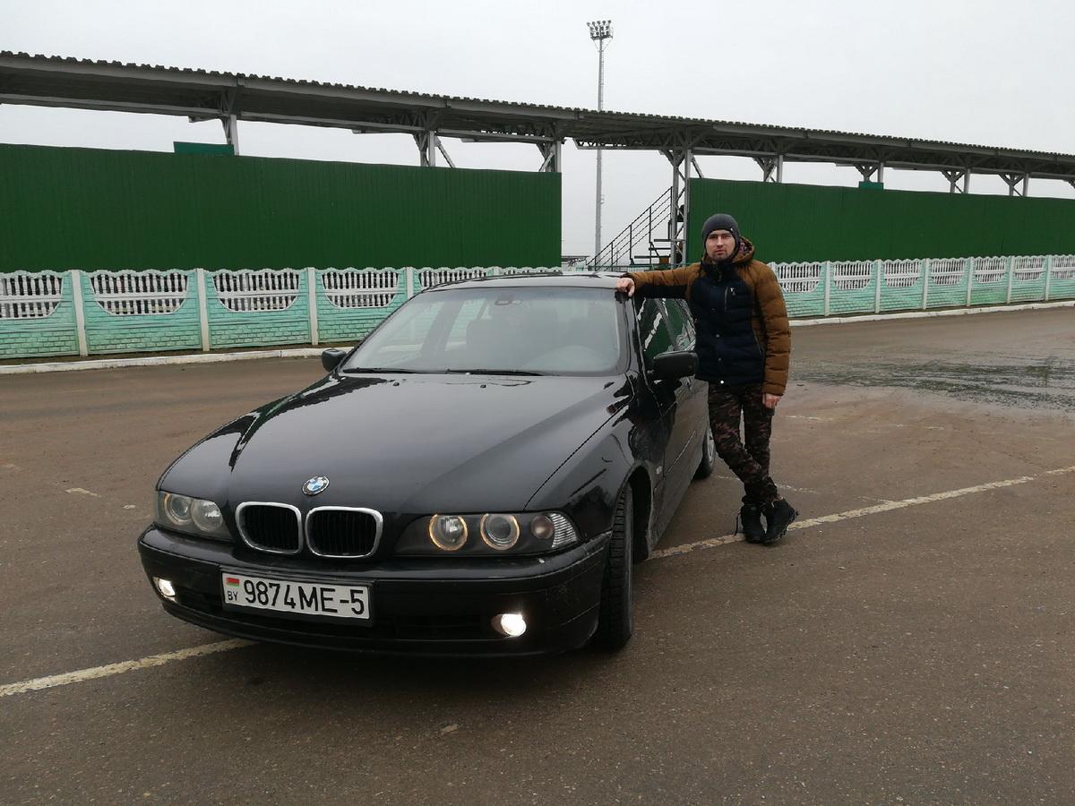 Вячеслав Ромашко – владелец автомобиля BMW E39 2001 года выпуска. Фото: Личный архив