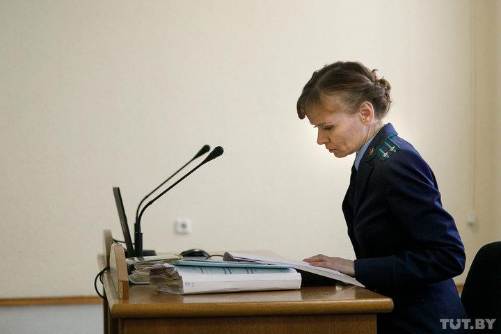 Прокурор Юлия Харчейкина. Фото: tut.by