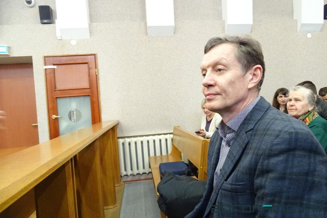Владимир Кравчёнок в ожидании приговора, фото: Еврорадио