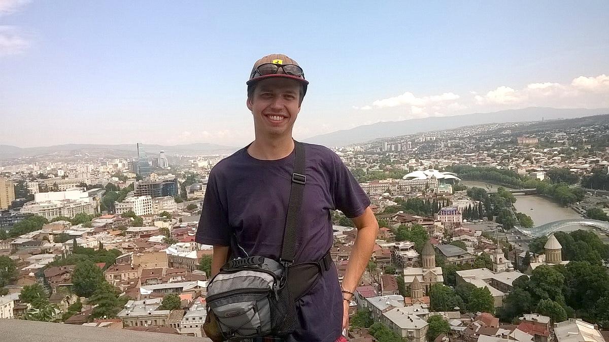 Александр Мирошник полгода путешествовал автостопом по странам Европы и Азии. Фото: личный архив
