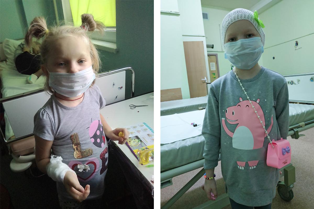 Саша в РНПЦ детской онкологии и гематологии