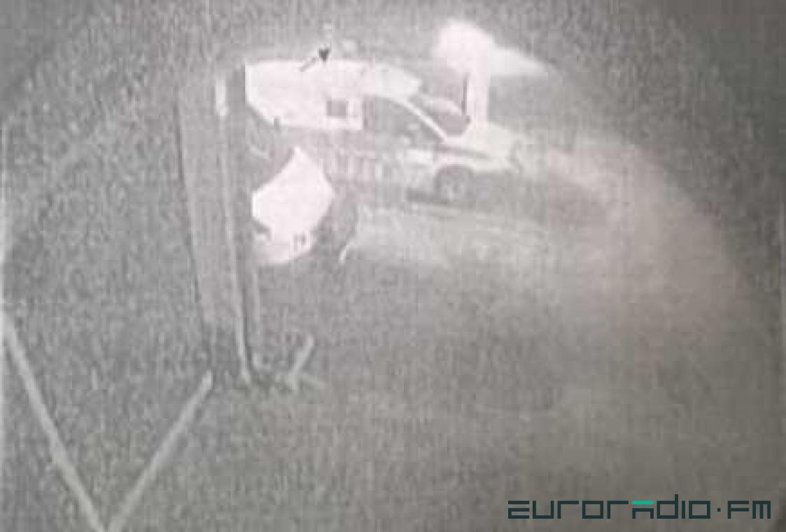 Стоп-кадр видеозаписи. Фото: Еврорадио