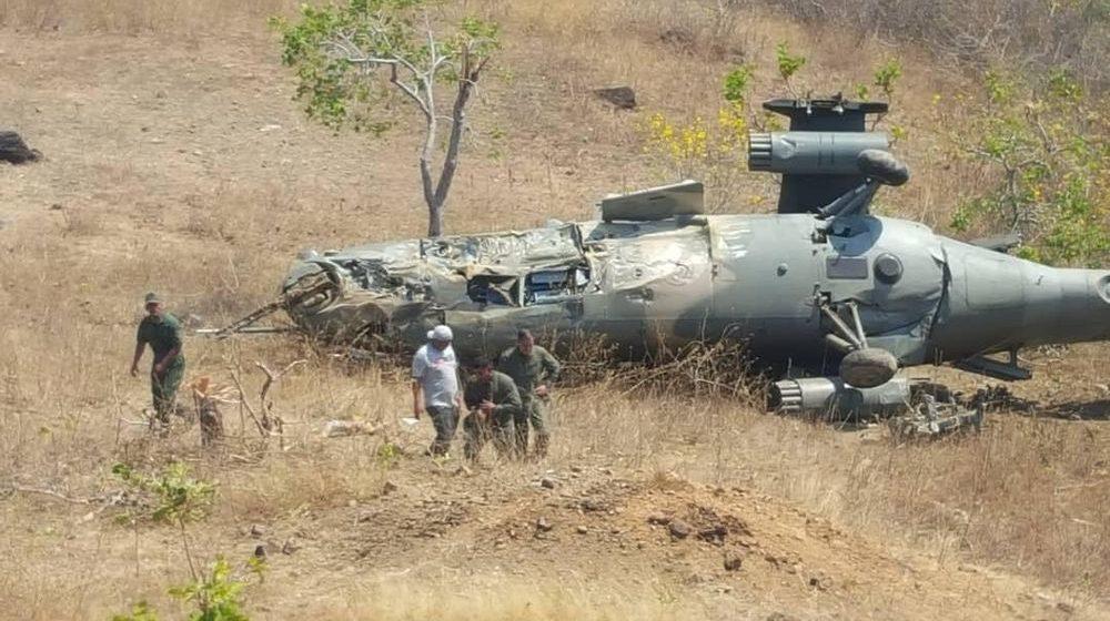 Во время учений по «отражению вторжения США» в Венесуэле разбился ударный вертолет Ми-35М