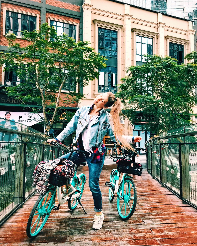 Велопрогулка. Фото: архив Анны АВЛАС