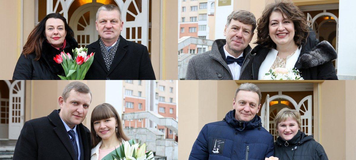 Кто зарегистрировал брак в Барановичах в День святого Валентина