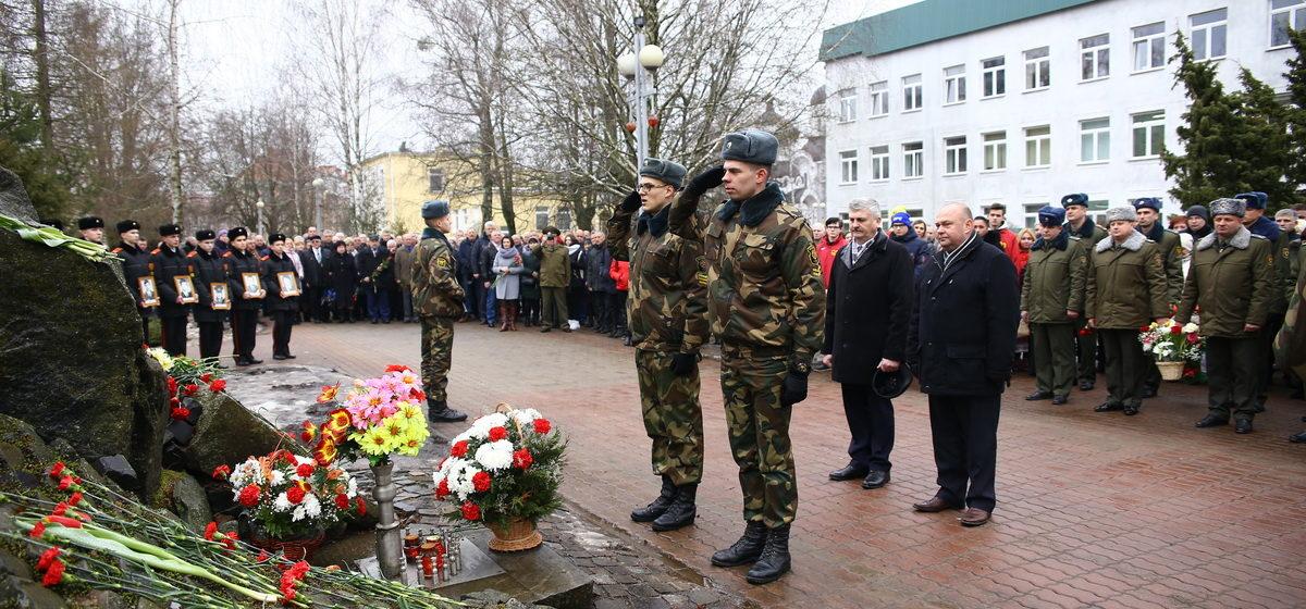 Мероприятие, посвященное 30-летию вывода Советских войск из Афганистана, прошло в Барановичах