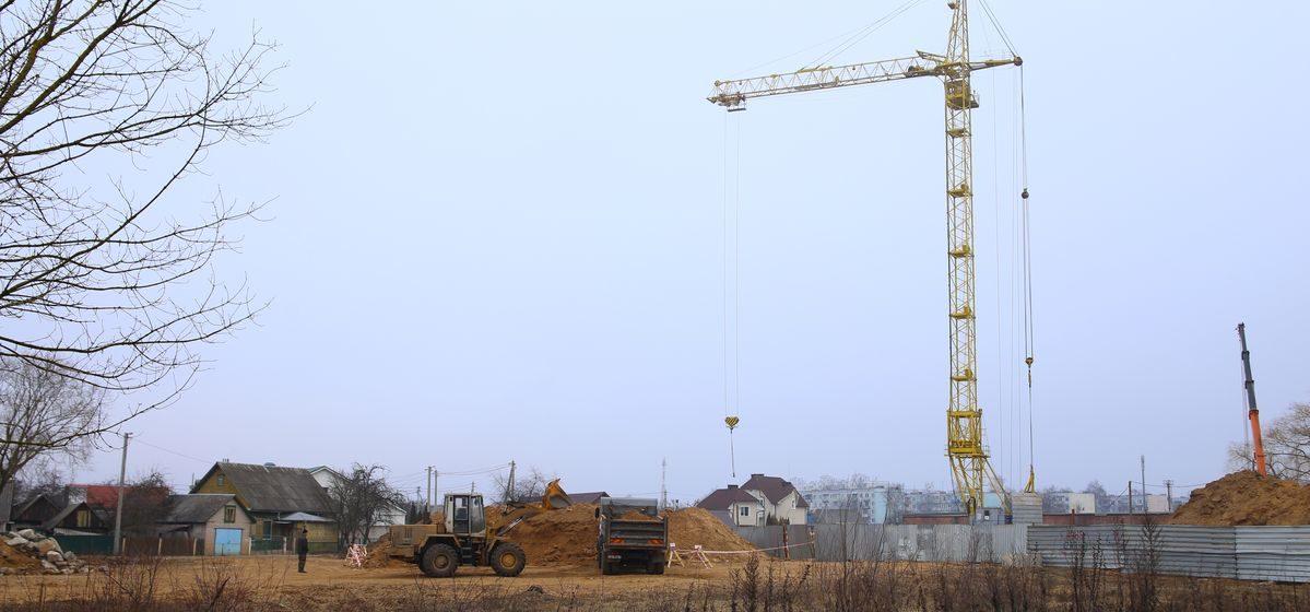 В Барановичах начали строить новые дома в центре города. Один из них будет 16-этажным