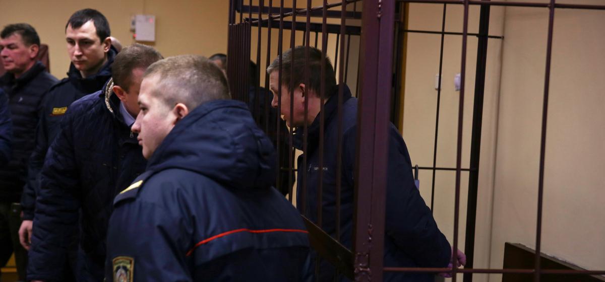 28 февраля 2019 года. Обвиняемый перед вынесением приговора.  Фото: Евгений ТИХАНОВИЧ