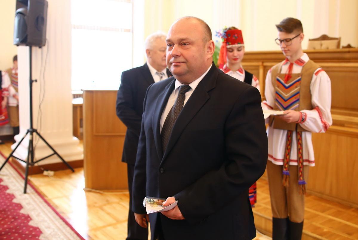 Юрий Громаковский, председатель Барановичского городского исполнительного комитета. Фото: Татьяна МАЛЕЖ