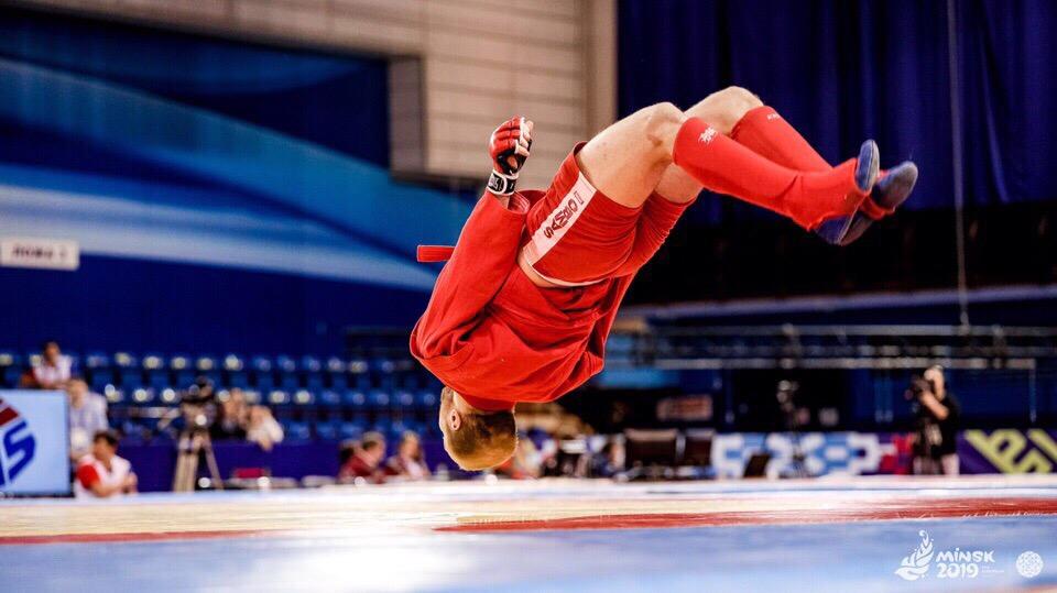 Уроженец Барановичей выиграл золото Президентского турнира по самбо