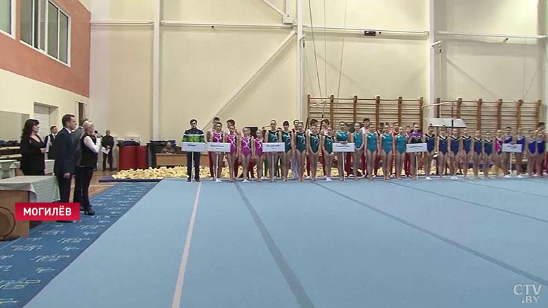 Барановичские гимнасты выиграли награды Кубка Беларуси