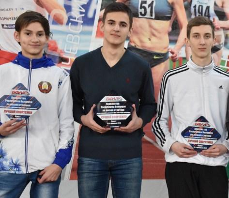Юные легкоатлеты СДЮШОР №2 привезли пять наград с первенства Беларуси