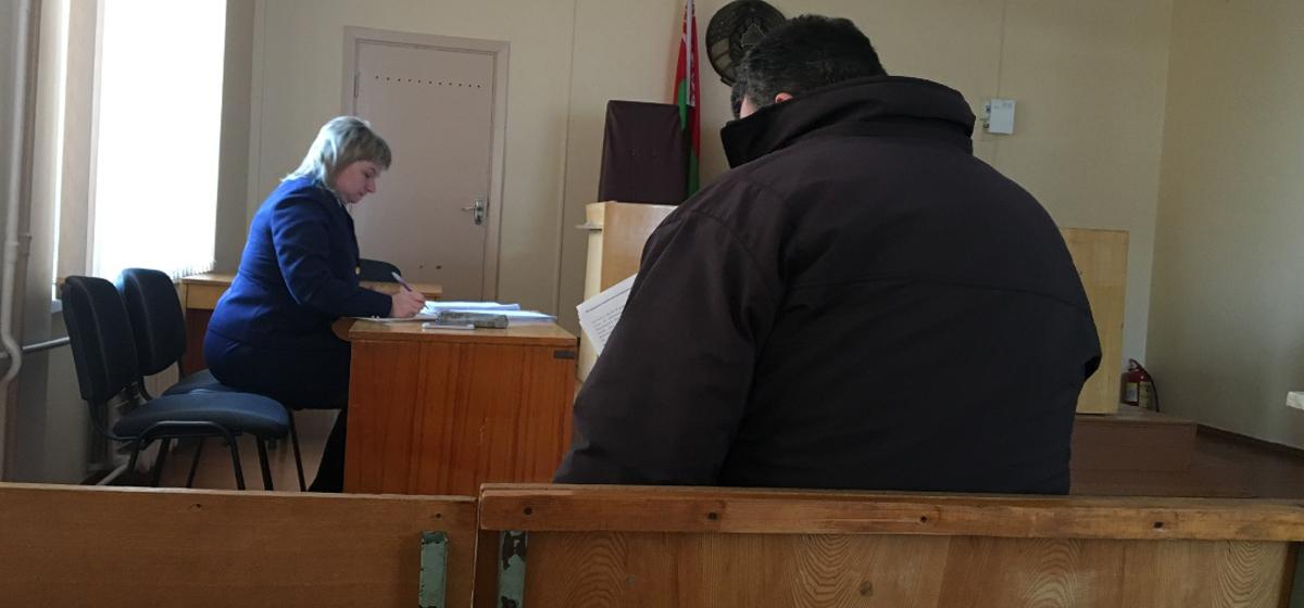 Январь 2019 года. Обвиняемый перед началом судебного заседания. Фото: Intex-press