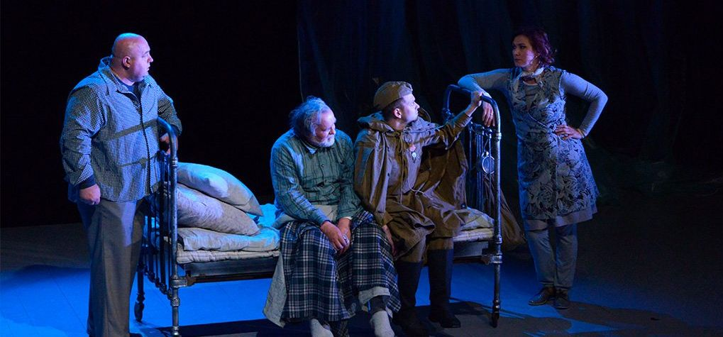 Трагикомедию «Дзед» покажет в Барановичах Республиканский театр белорусской драматургии