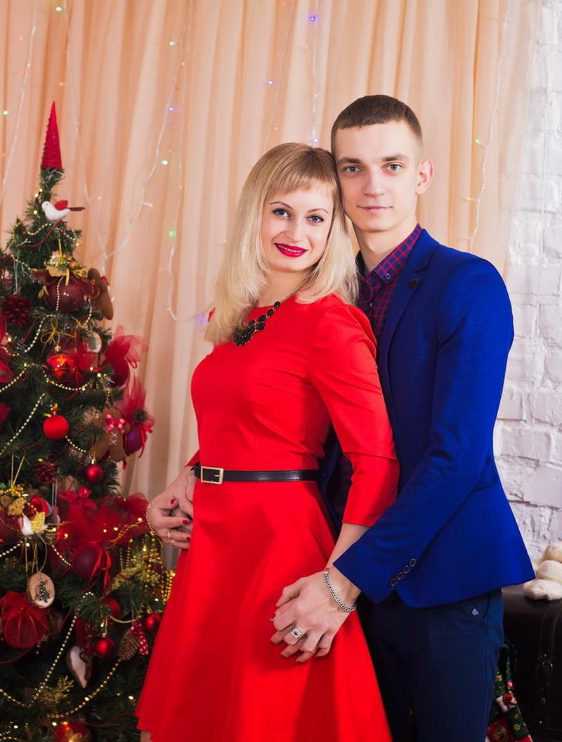 Вероника и Дмитрий Шуваловы.