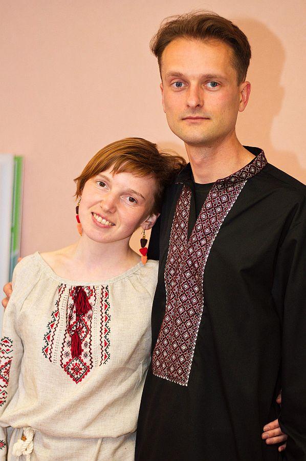 Юля Траццяк і Алесь Гізун. Фота: https://vk.com/movananova.baranavichy