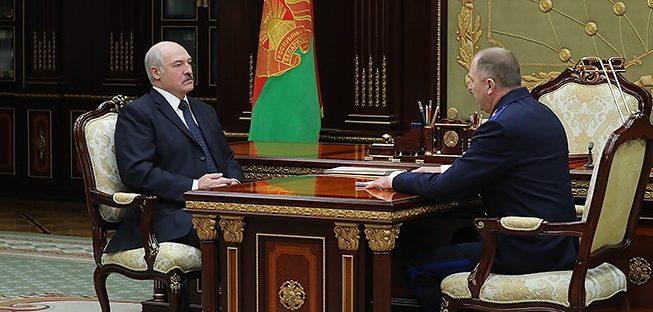 Лукашенко — Носкевичу: Ни Господь, ни люди нас не простят, если мы накажем невиновного