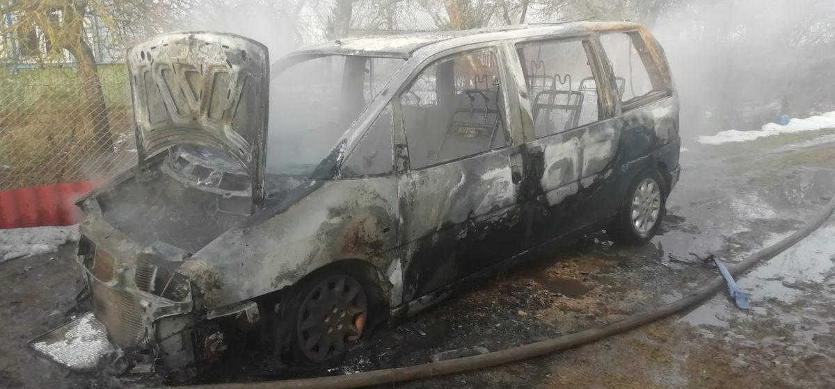 В Барановичах за сутки сгорели две машины