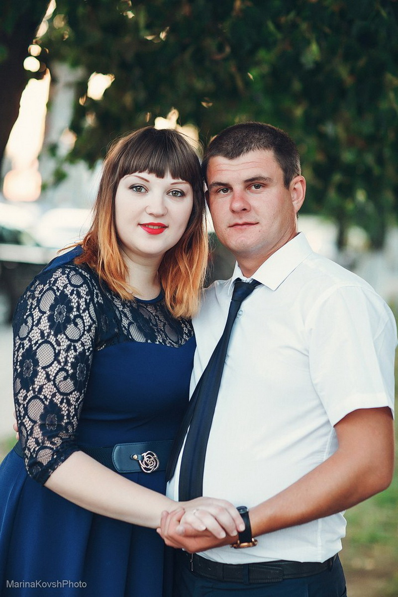 Мария Яцута и Степан Жила.