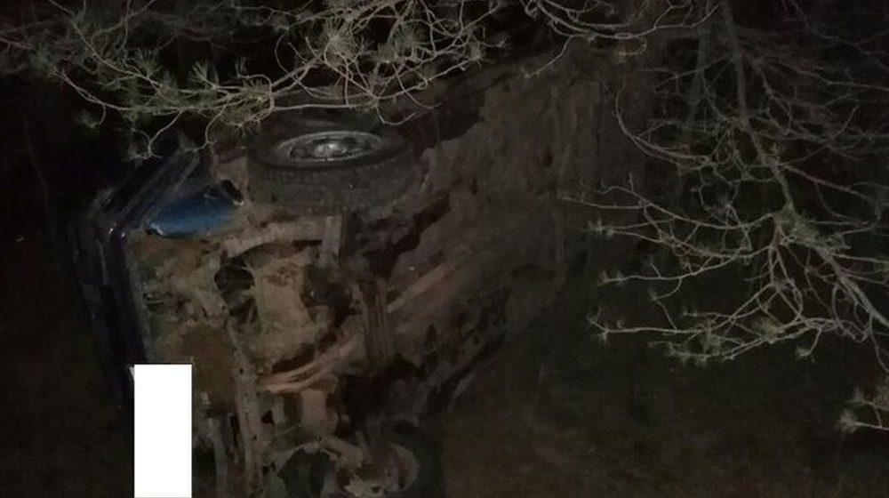 Бесправница не справилась с управлением и вылетела в кювет в Новогрудском районе — погиб непристегнутый пассажир