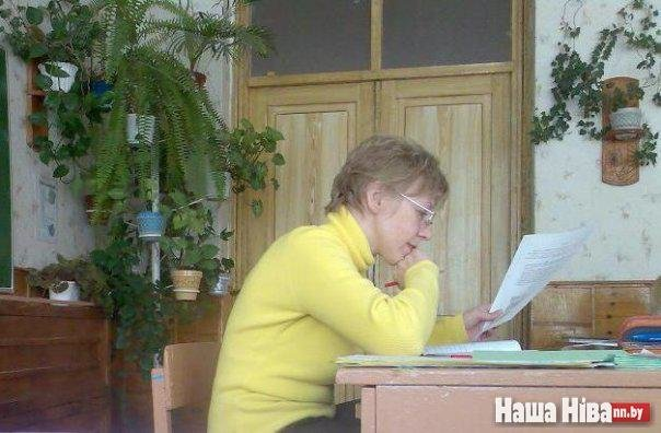 Погибшая учительница Марина Пархимович. Фото: Наша Ніва