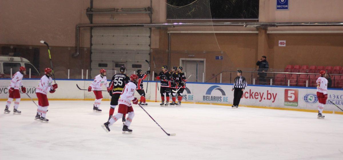 ХК «Барановичи» проиграл на выезде юниорской сборной Беларуси
