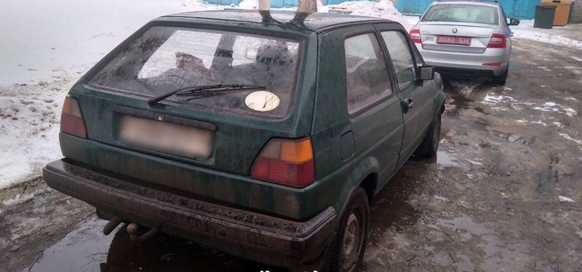 В Барановичах сотрудники ГАИ задержали водителя, который перевозил безакцизный алкоголь