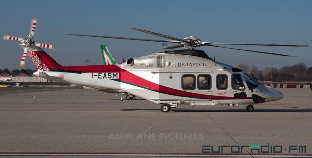 Новый вертолет в государственной ливрее за 12 миллионов долларов доставили в Беларусь