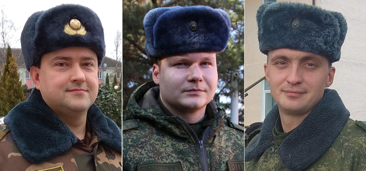 Николай Волошин, Алексей Сидорович, Павел Голубицкий.