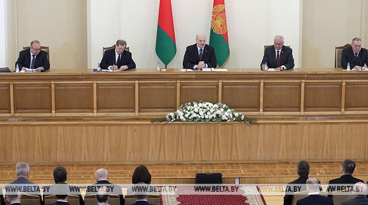 Встреча Александра Лукашенко с активом города Барановичи и Барановичского района. Фото: belta.by