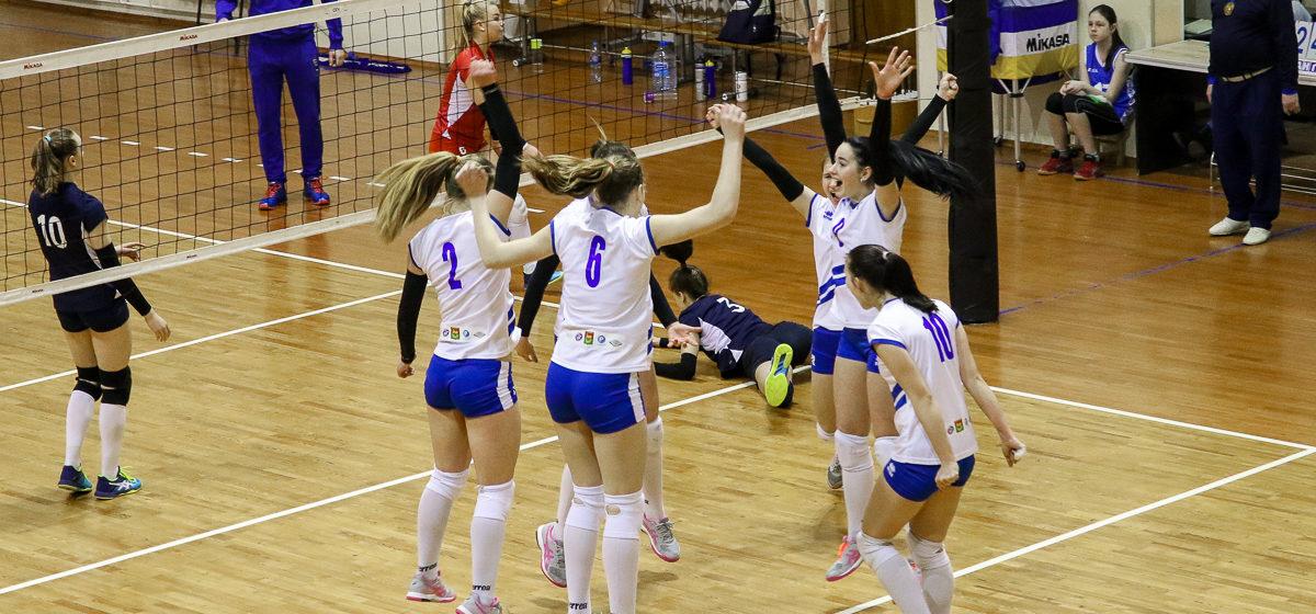 Волейбольный клуб «Атлант-БарГУ» вышел в полуфинал дивизиона «Б» чемпионата Беларуси