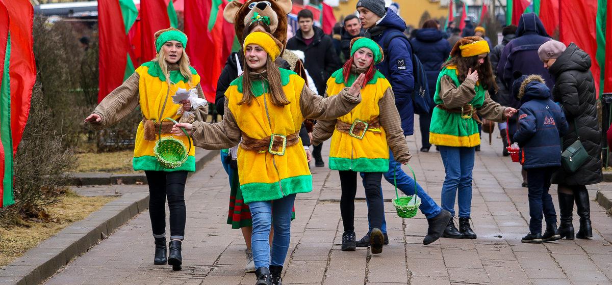 Празднование Масленицы в Барановичах (фоторепортаж)