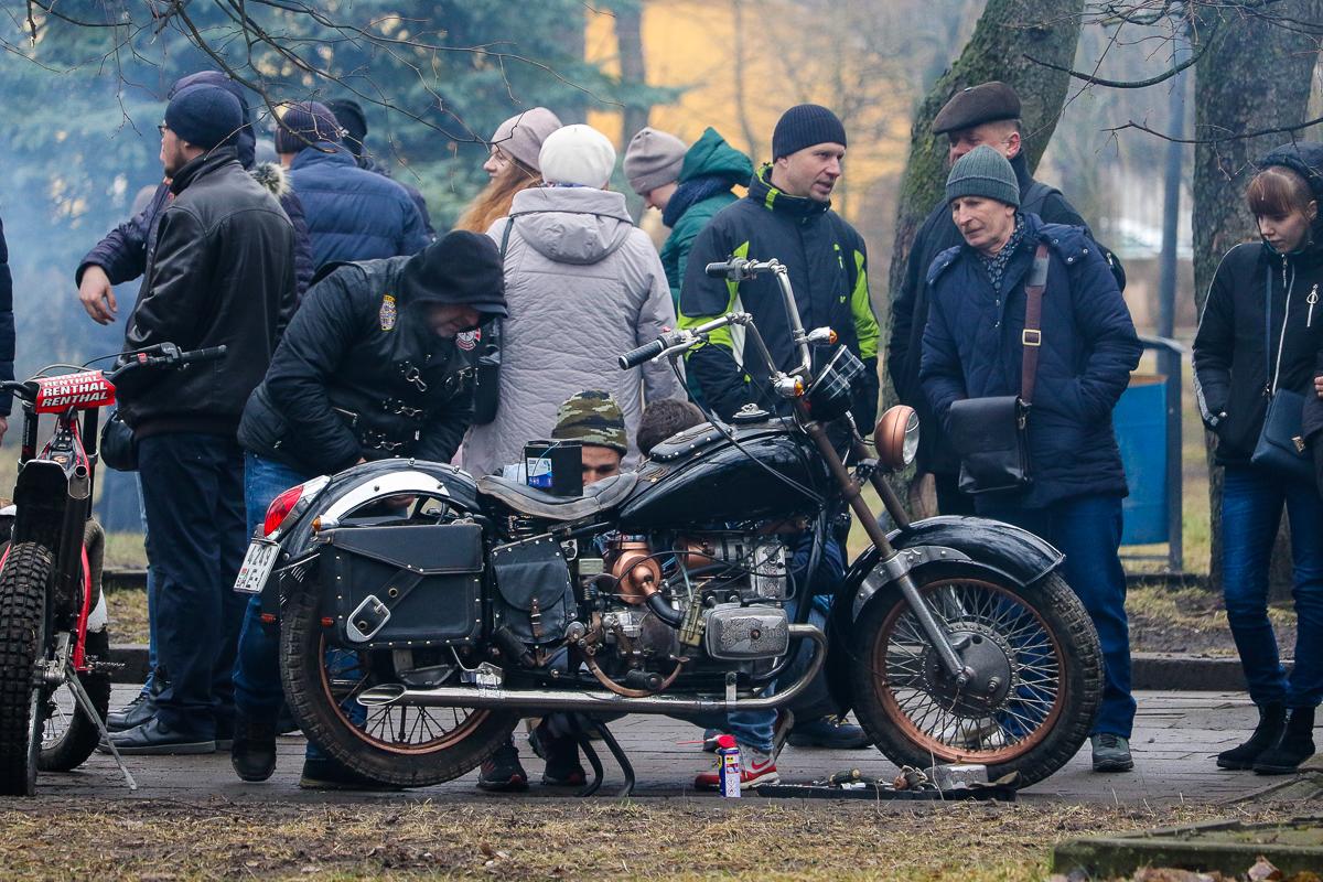 На празднике присутствовали представители мотоклуба West Region Барановичи.