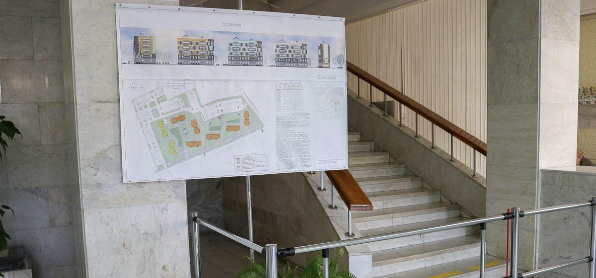 Общественное обсуждение строительства нового квартала 10-этажек началось в Барановичах