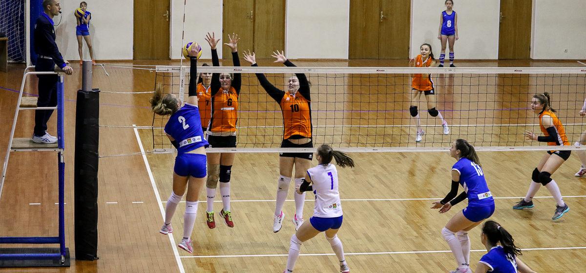 Волейбольный клуб «Атлант-БарГУ» одержал победу в первом матче полуфинала в дивизионе «Б» чемпионата Беларуси